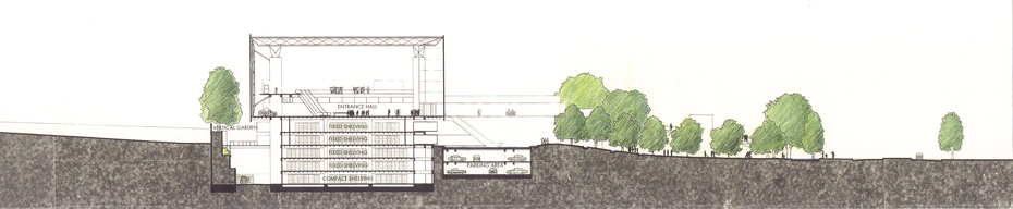 Noriaki Okabe Architecture Network>国立国会図書館関西館
